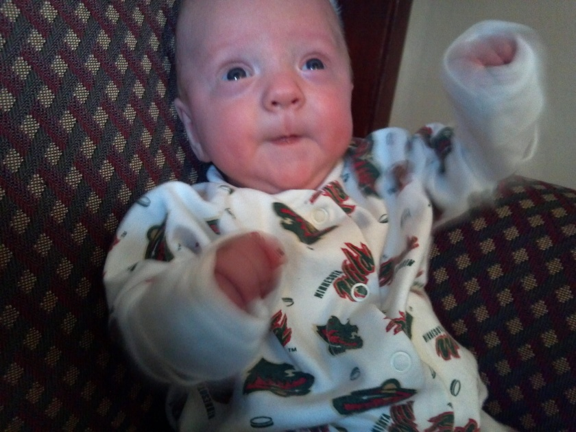 "Jaxson says ""Merry Christmas!"""
