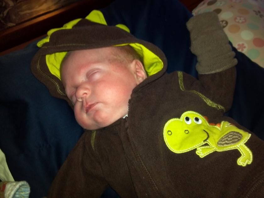 Sleeping Baby = No Yowling!