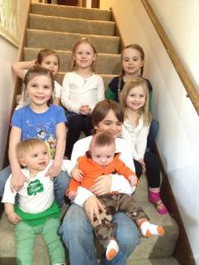 """The """"Schwolnesterkis"""" cousins together for the first time"""