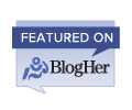 Featured on BlogHer