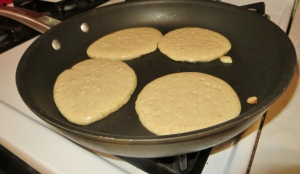 add batter to pan