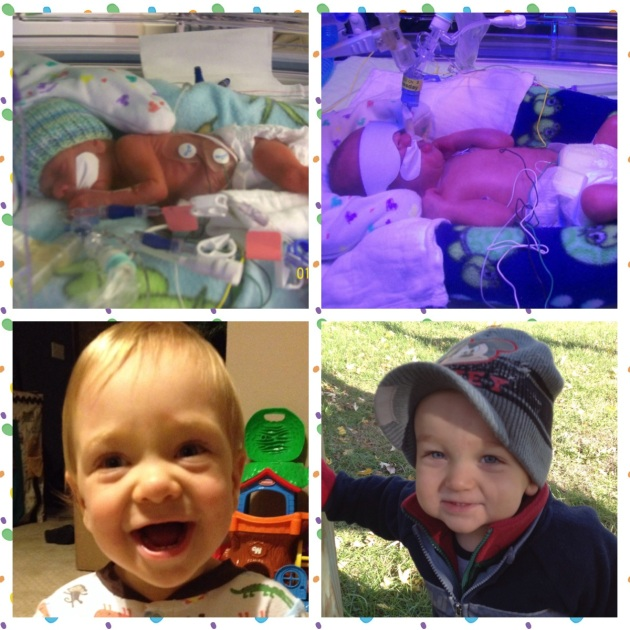 Tiny Twins - Stacy's Story (Guest Post in Honor of Prematurity Awareness Month)
