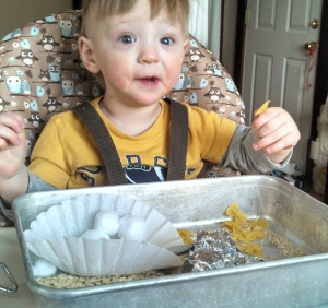 sensory bin for toddler