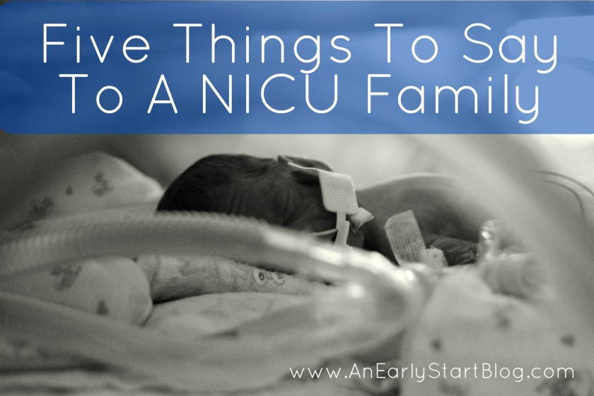 5 things to say to a NICU family